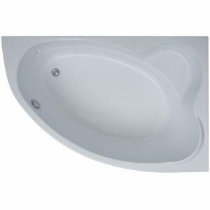 Фото товара Акриловая ванна Aquanet Lyra 150х100 R 00254758 без гидромассажа.