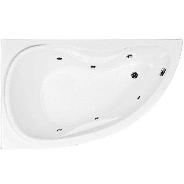 Акриловая ванна Aquanet Maldiva 150х90 без гидромассажа L доступна к покупке по выгодной цене.