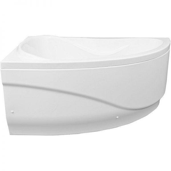 Акриловая ванна Aquanet Maldiva 150х90 без гидромассажа L в ванной комнате.