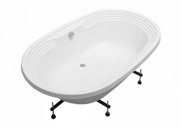 Акриловая ванна Aquanet Mishel 190х115 без гидромассажа доступна к покупке по выгодной цене.