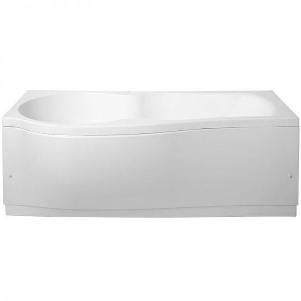 Акриловая ванна Aquanet Nicol 170х85 без гидромассажа L в интерьере.