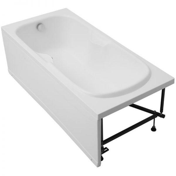 Акриловая ванна Aquanet Polo 170х80 без гидромассажа изображена на фото
