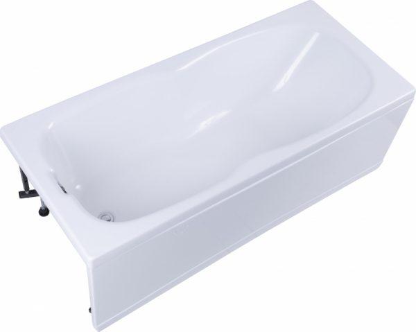 Акриловая ванна Aquanet Riviera 170х75 с антискользящим покрытием изображена на фото