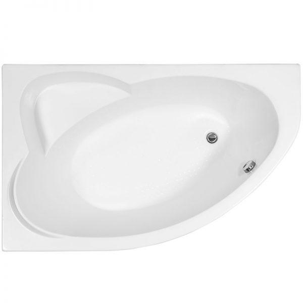 Фото товара Акриловая ванна Aquanet Sarezo 160х100 без гидромассажа L.