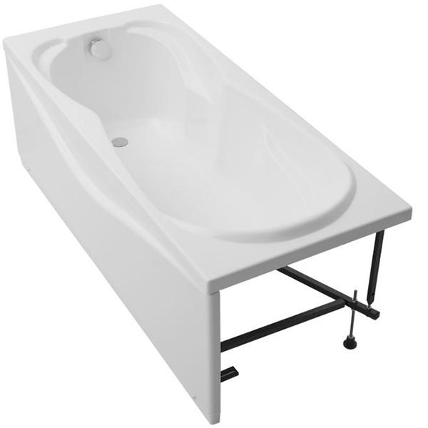 Акриловая ванна Aquanet Viola 180х75 без гидромассажа изображена на фото