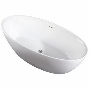 Фото товара Акриловая ванна Art&Maх Bologna AM-BOL-1700-820 без гидромассажа.