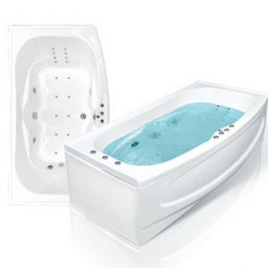 Фото товара Акриловая ванна Bach Дженни 190х110 система 0.