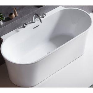 Фото товара Акриловая ванна BelBagno BB409-1500-800 150х80 без гидромассажа.