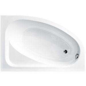 Фото товара Акриловая ванна Besco Cornea Comfort 150х100 L без гидромассажа.