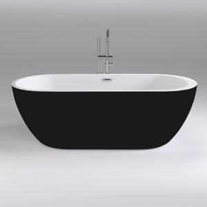 Фото товара Акриловая ванна Black&White Black Swan 170х80 SB105 Black без гидромассажа.