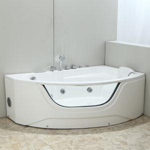Фото товара Акриловая ванна Black&White Galaxy 160х60 GB5008-R с гидромассажем.