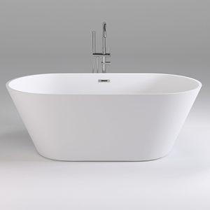 Фото товара Акриловая ванна Black&White Swan 170х80 SB103 без гидромассажа.