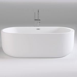 Фото товара Акриловая ванна Black&White Swan 170х80 SB109 без гидромассажа.