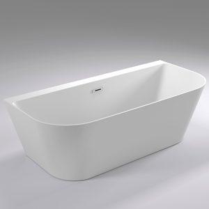 Фото товара Акриловая ванна Black&White Swan 170х80 SB115 без гидромассажа.