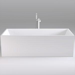 Фото товара Акриловая ванна Black&White Swan 180х80 SB107 без гидромассажа.