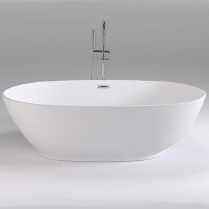 Фото товара Акриловая ванна Black&White Swan 180х90 SB106 без гидромассажа.