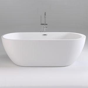 Фото товара Акриловая ванна Black&White Swen 170х80 SB105 без гидромассажа.
