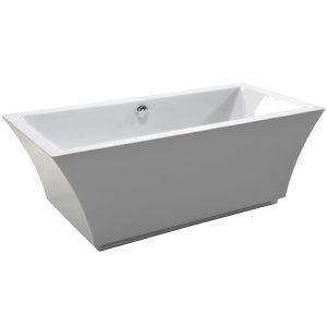 Фото товара Акриловая ванна Cerutti SPA B-7105 170х80 7392 Белая.