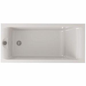 Фото товара Акриловая ванна Eurolux Bath Qwatry 170х70 E1017070030 без гидромассажа.