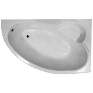 Фото товара Акриловая ванна Eurolux Bath Sparta 160х100 R E2160100035R без гидромассажа.