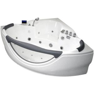 Фото товара Акриловая ванна Gemy G9025 II K 155х155 С гидромассажем.
