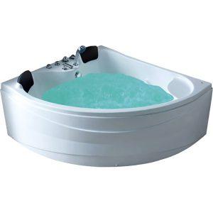 Фото товара Акриловая ванна Gemy G9041 K 150х150 L с гидромассажем.