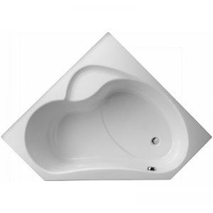 Фото товара Акриловая ванна Jacob Delafon Bain Douche 135х135 E6219-00 R без гидромассажа.