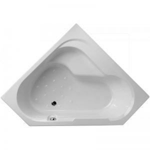 Фото товара Акриловая ванна Jacob Delafon Bain Douche 145х145 E6222RU-00 L без антискользящего покрытия.