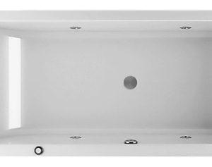 Фото товара Акриловая ванна Jacuzzi Lagoon 170х70 9443-816A белая