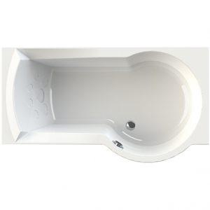 Фото товара Акриловая ванна Radomir Валенсия 170х95 R 1-01-0-2-1-021 Белая без гидромассажа.