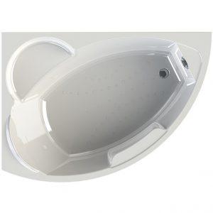 Фото товара Акриловая ванна Radomir Vannesa Алари 168х120 L 2-01-0-1-1-218 Белая без гидромассажа.