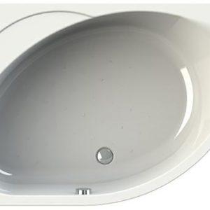 Фото товара Акриловая ванна Radomir Vannesa Мелани 140х95 L 2-01-0-1-1-212 Белая без гидромассажа.