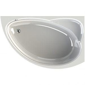 Фото товара Акриловая ванна Radomir Vannesa Модерна 160х100 R 2-01-0-2-1-214 Белая без гидромассажа.