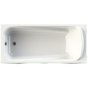 Фото товара Акриловая ванна Radomir Vannesa Роза 170х77 2-01-0-0-1-208 Белая без гидромассажа.