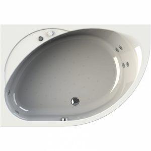 Фото товара Акриловая ванна Radomir Wachter Мелани 140х95 форсунки Белые L с гидромассажем.