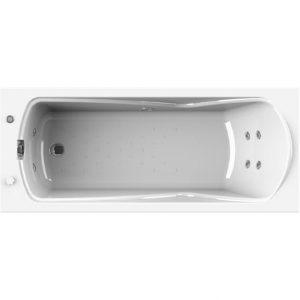 Фото товара Акриловая ванна Radomir Wachter Сильвия 168х70 с гидромассажем форсунки Белые.