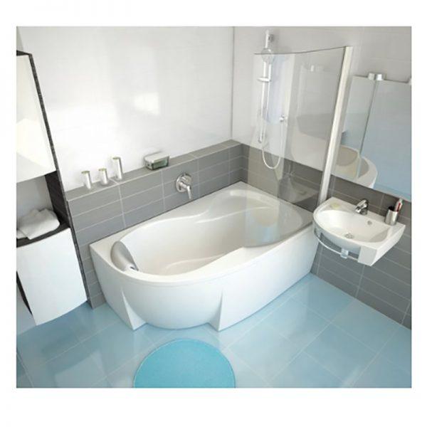 Акриловая ванна Ravak Rosa 95 150х95 L C551000000 Белая доступна к покупке по выгодной цене.