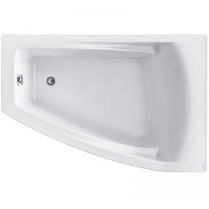 Фото товара Акриловая ванна Roca Hall Angular 150х100 ZRU9302865 R без гидромассажа.