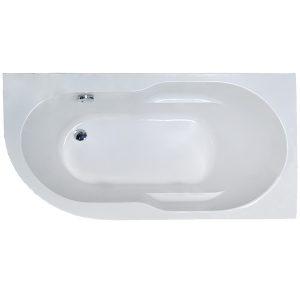 Фото товара Акриловая ванна Royal Bath Azur 140х80 R RB614200R без гидромассажа.