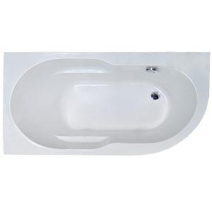 Фото товара Акриловая ванна Royal Bath Azur 150х80 L RB614201L без гидромассажа.