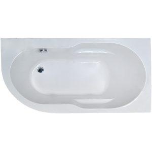Фото товара Акриловая ванна Royal Bath Azur 150х80 R RB614201R без гидромассажа.