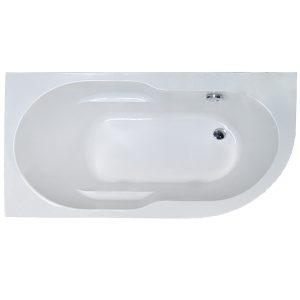 Фото товара Акриловая ванна Royal Bath Azur 160х80 L RB614202L без гидромассажа.