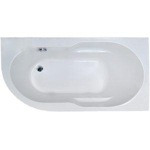 Фото товара Акриловая ванна Royal Bath Azur 170х80 R RB614203R без гидромассажа.