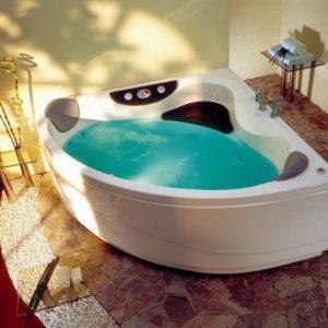 Фото товара Акриловая ванна Victory Spa Curacao 145х145 Без системы управления.