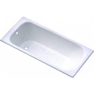 Фото товара Чугунная ванна Goldman Classic 130х70 с антискользящим покрытием.