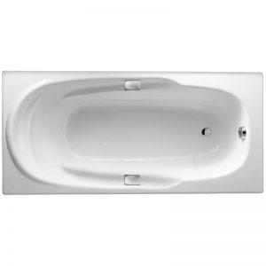 Фото товара Чугунная ванна Jacob Delafon Adagio 170х80 E2910-00 с антискользящим покрытием.