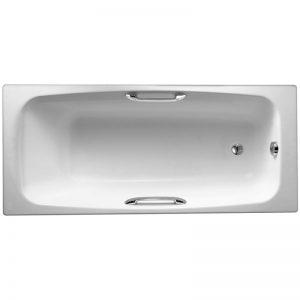 Фото товара Чугунная ванна Jacob Delafon Diapason 170х75 E2926-00 с отверстиями для ручек.