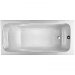 Фото товара Чугунная ванна Jacob Delafon Repos 170х80 E2918-00 без отверстий для ручек.