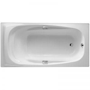 Фото товара Чугунная ванна Jacob Delafon Super Repos 180х90 E2902-00 с антискользящим покрытием.