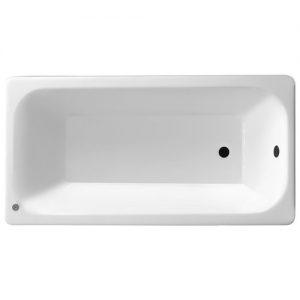 Фото товара Чугунная ванна Pucsho Klassik 150х75 с антискользящим покрытием.